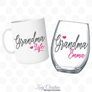 grandma life set of 2
