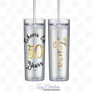 Cheers to 50 years Tumbler