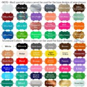 color chart square