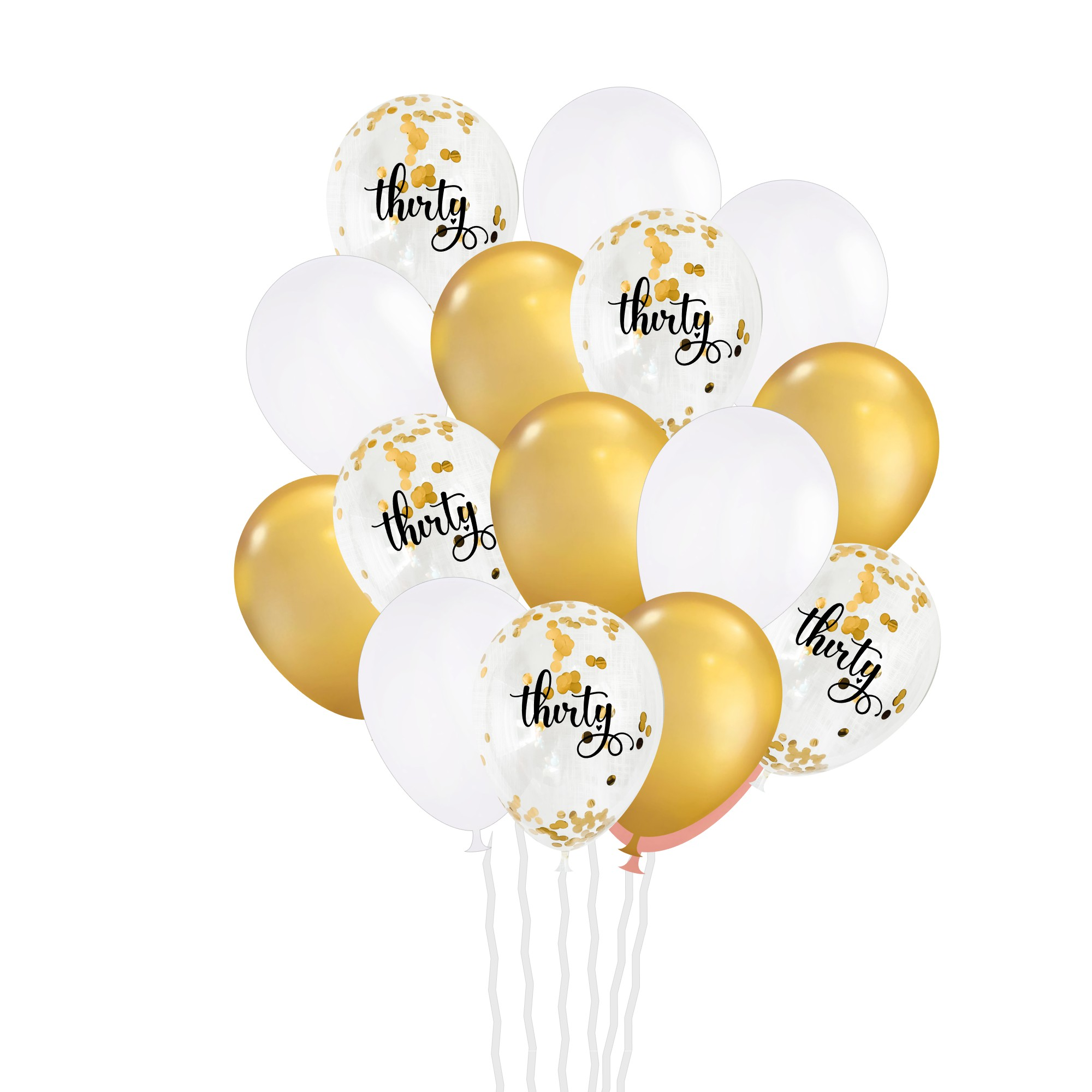 30th Birthday Balloon Bouquet For Women Party Supplies For Women
